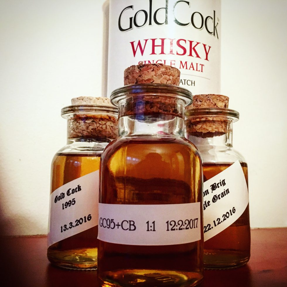 Cold Cock 1995 20 Yo + Cameron Brig Blended Whisky