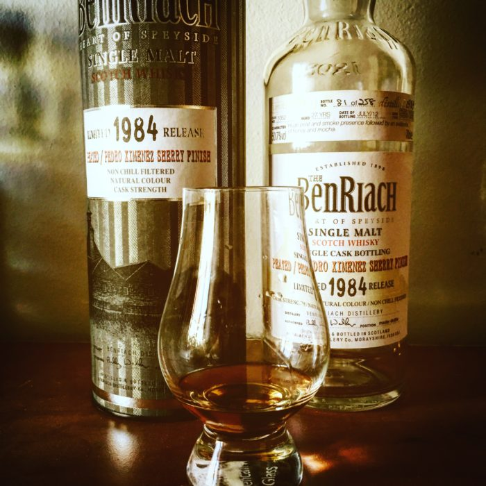 BenRiach 1984 27 yo Peated PX Sherry Finish